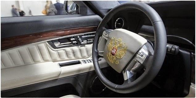 Limousine presidenziale Putin Russia