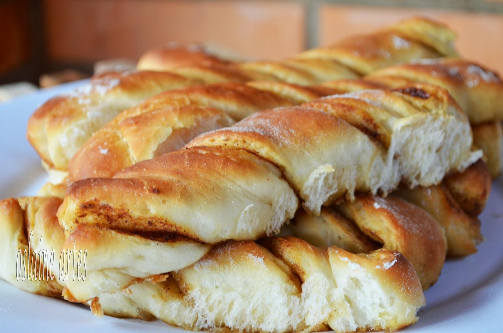 Pão de Canela Torcido