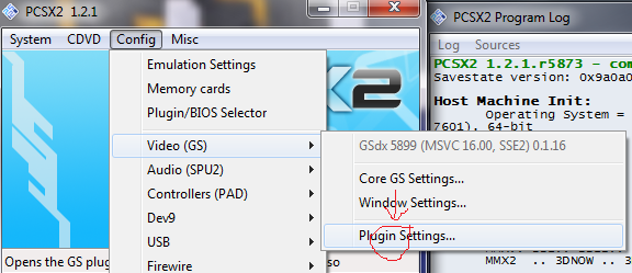 Cara setting PCSX2 agar lancar dan tidak Lag
