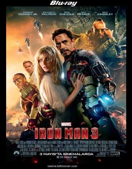 Demir Adam 3: Iron Man 3 (2013) afis