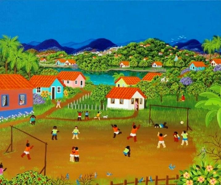 im u00e1genes arte pinturas  paisaje naif pintora ana maria dias
