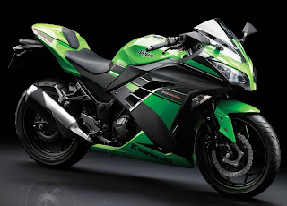 Harga dan Spesifikasi New Ninja 250 ABS dan Non ABS Full Injection Lime Green