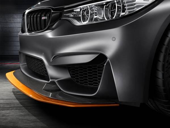 「BMW Concept M4 GTS」フロントスポイラー画像