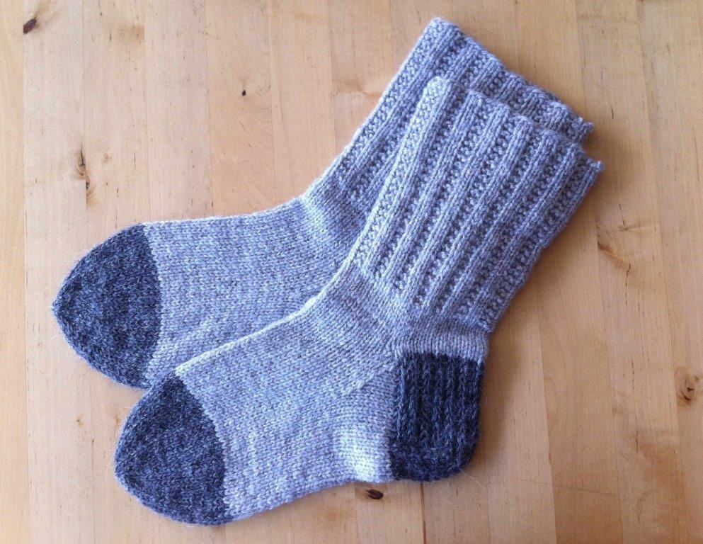 Lappone Garter Rib Socks