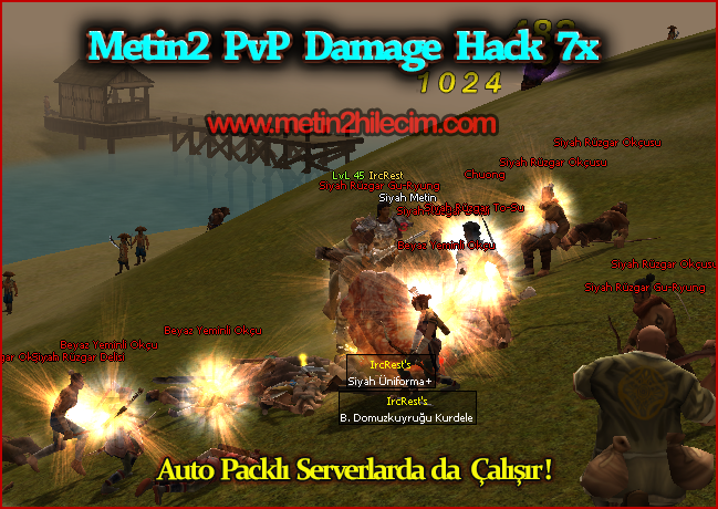 Metin2 PvP 7x Damage Hack