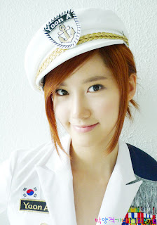 Im Yoona Korean Cute Girl Singer Beautiful Uniform Photo 4
