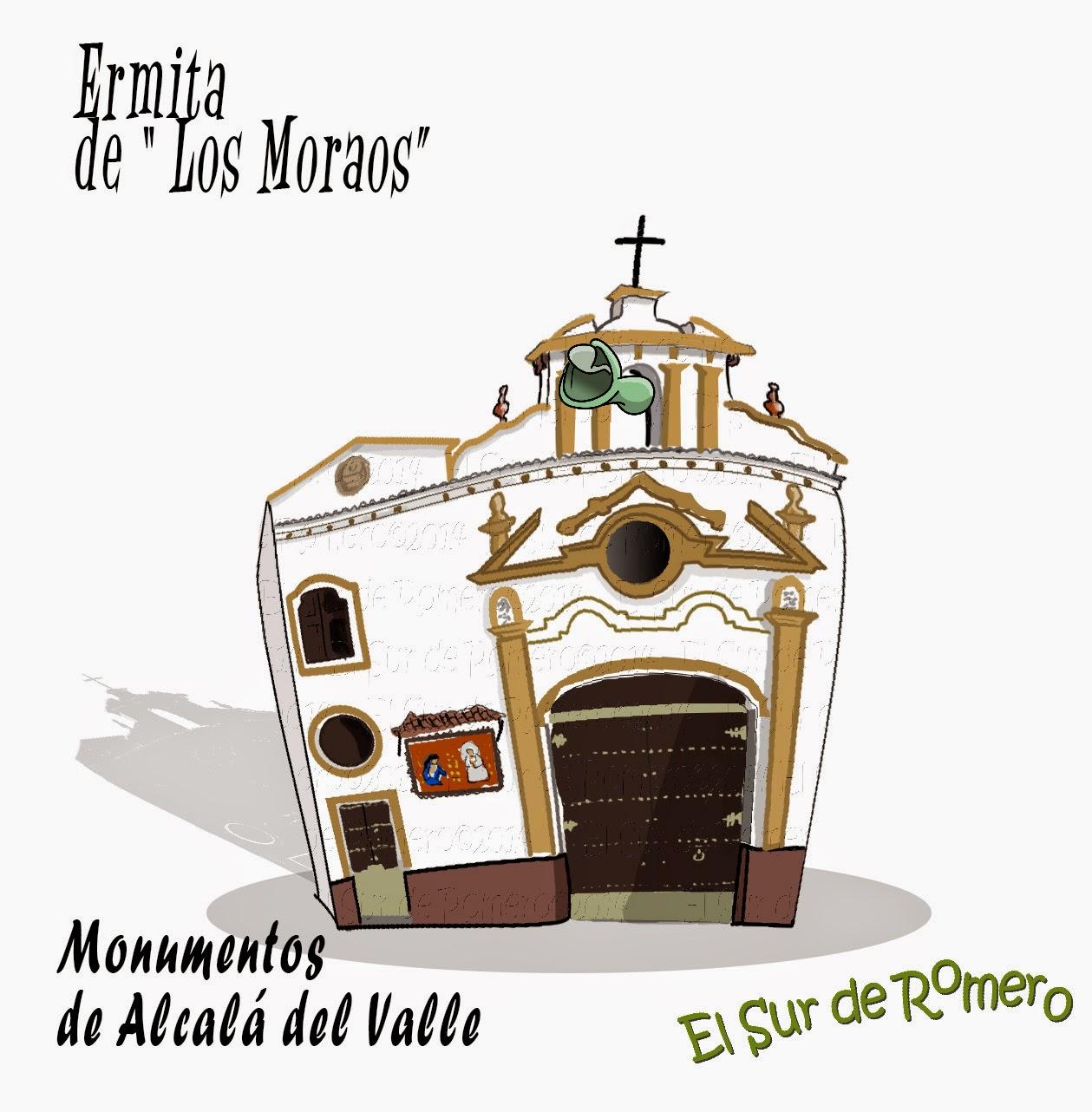 """<img src=""""Ermita Los Moraos.jpg"""" alt=""""dibujos de Alcalá del Valle""""/>"""