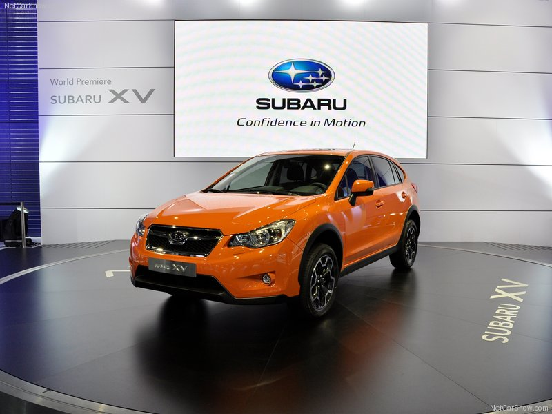 2012 Subaru XV New Crossover SUV