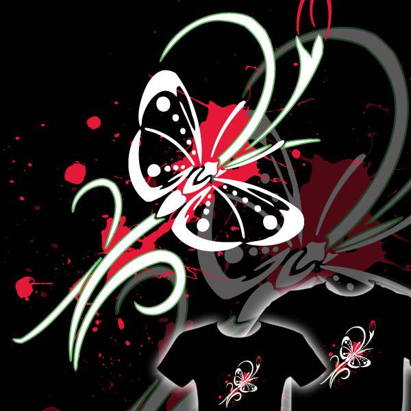 Graffiti Design Ideas : Best Graffiti 3D Animal Buterfly
