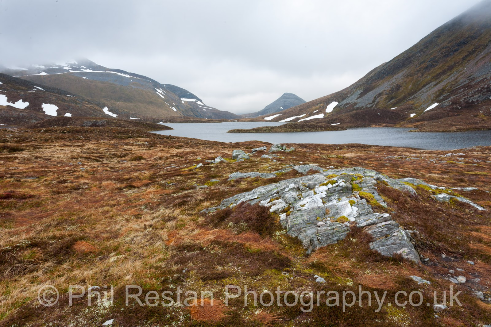 Photo of Coire an lochain, above loch Eilde mor