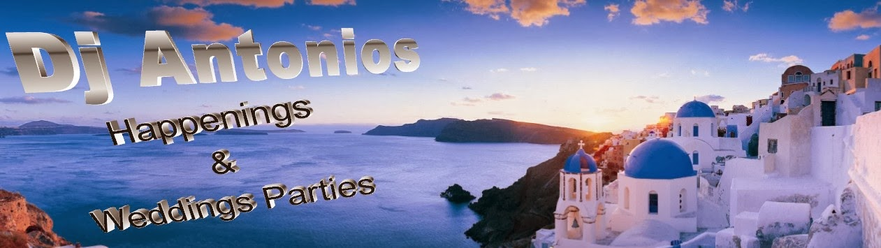 Dj Antonios (Happenings & Weddings parties in Santorini)
