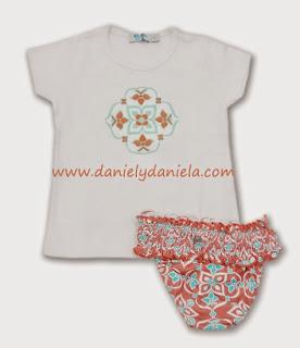 Conjunto de camiseta y culetín - Jose Varón. Daniel y Daniela