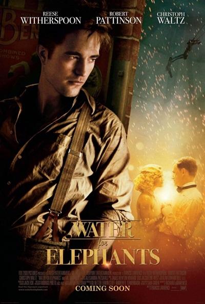 Agua para Elefantes DVDRip Castellano Película 2011