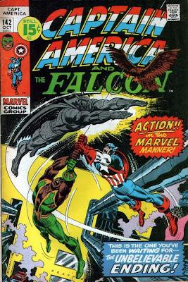 Captain America and the Falcon #152, the Grey Gargoyle