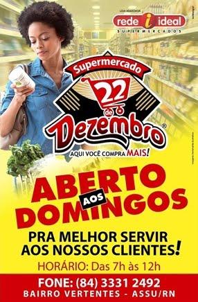 SUPERMERCADO 22 DE DEZEMBRO