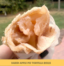 Apple Pie Tortilla Rolls