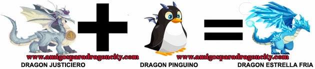 como hacer el dragon estrella fria de dragon city formula 2