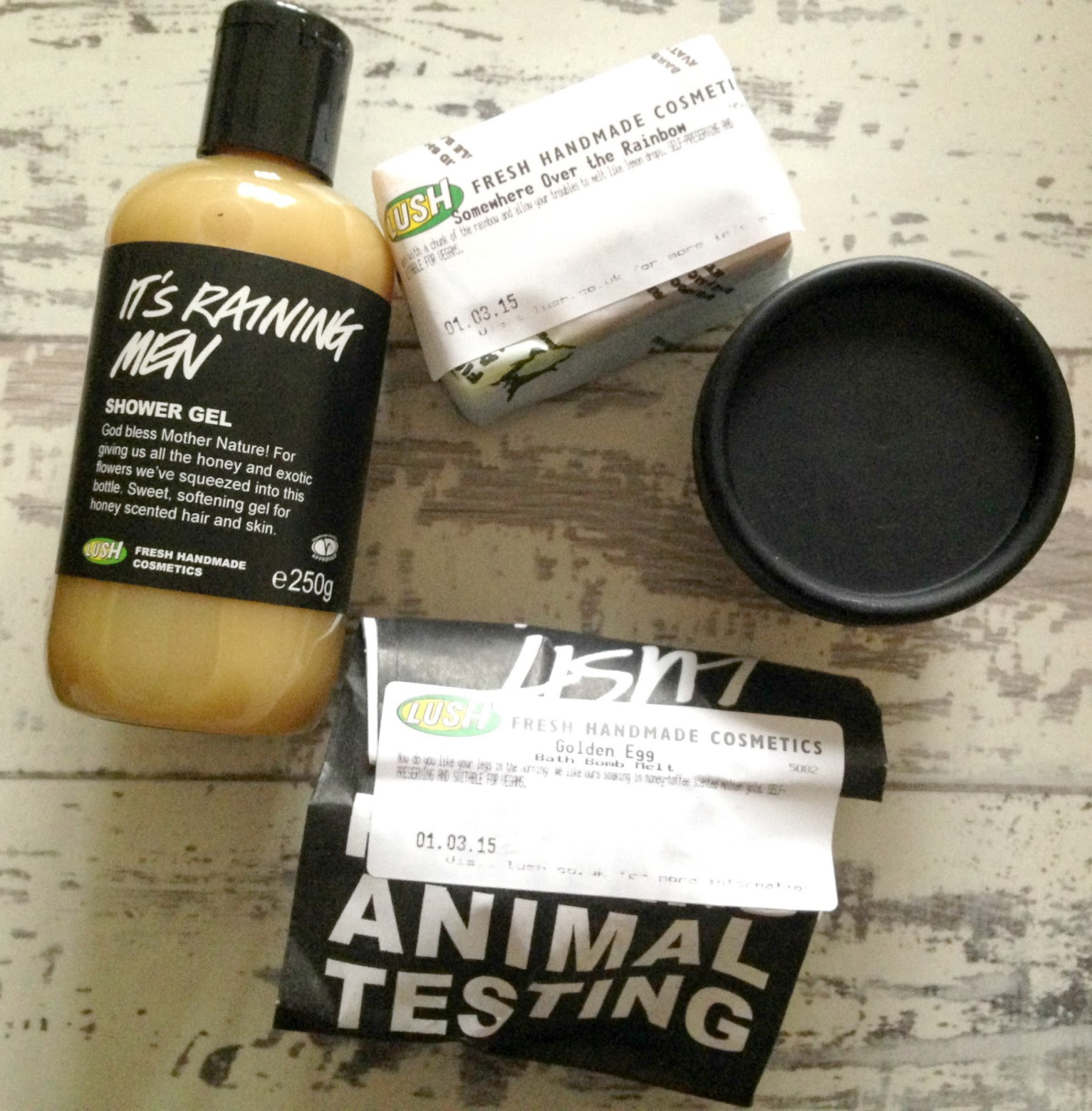 Lush Chester Spring Products