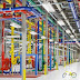 mari lihat di dalam google data center
