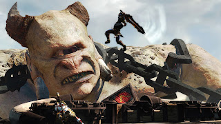 God of War Ascension Monster Polyphemus HD Wallpaper