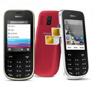 Nokia Asha 202 and Asha 203