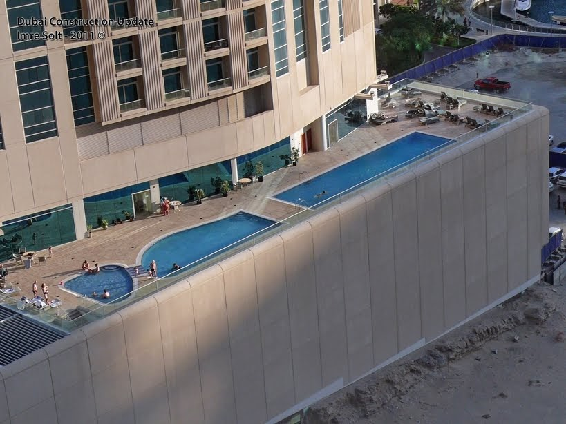 Dubai Constructions Update By Imre Solt Marina Heights Swimming Pool Photo Dubai Marina 21