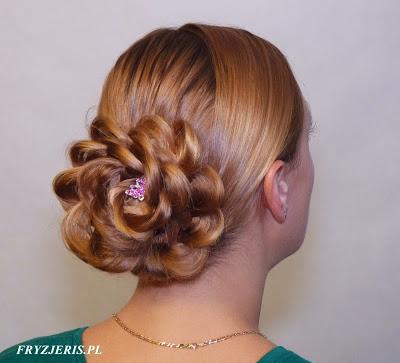 fryzura ślubna 96