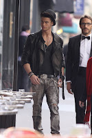 Baptiste Giabiconi Magnum et Karl Lagerfeld
