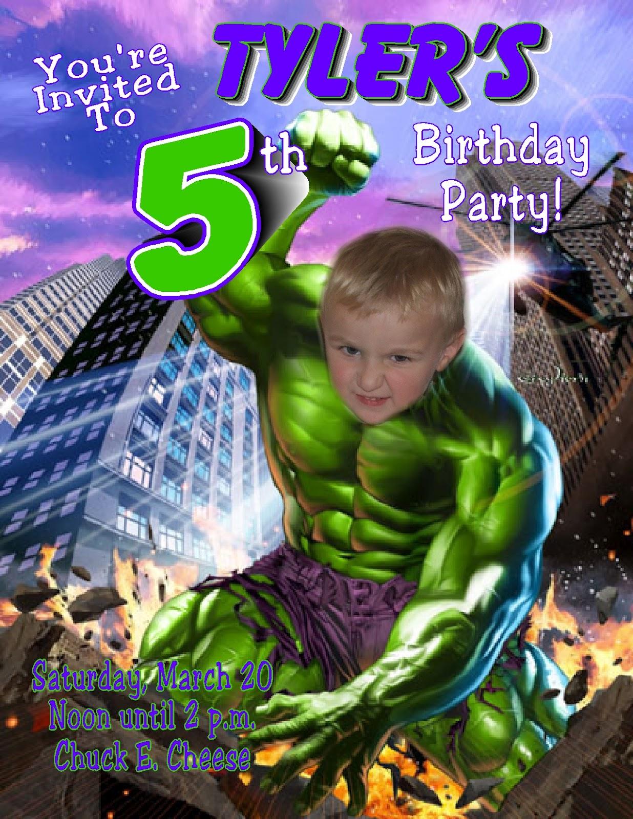Decoración de Fiestas Infantiles de Hulk   Fiestas Infantiles Decoracion
