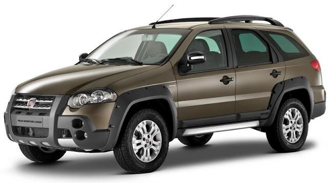 INMETRO 2012: carros mais econômicos do Brasil - Palio Adventure