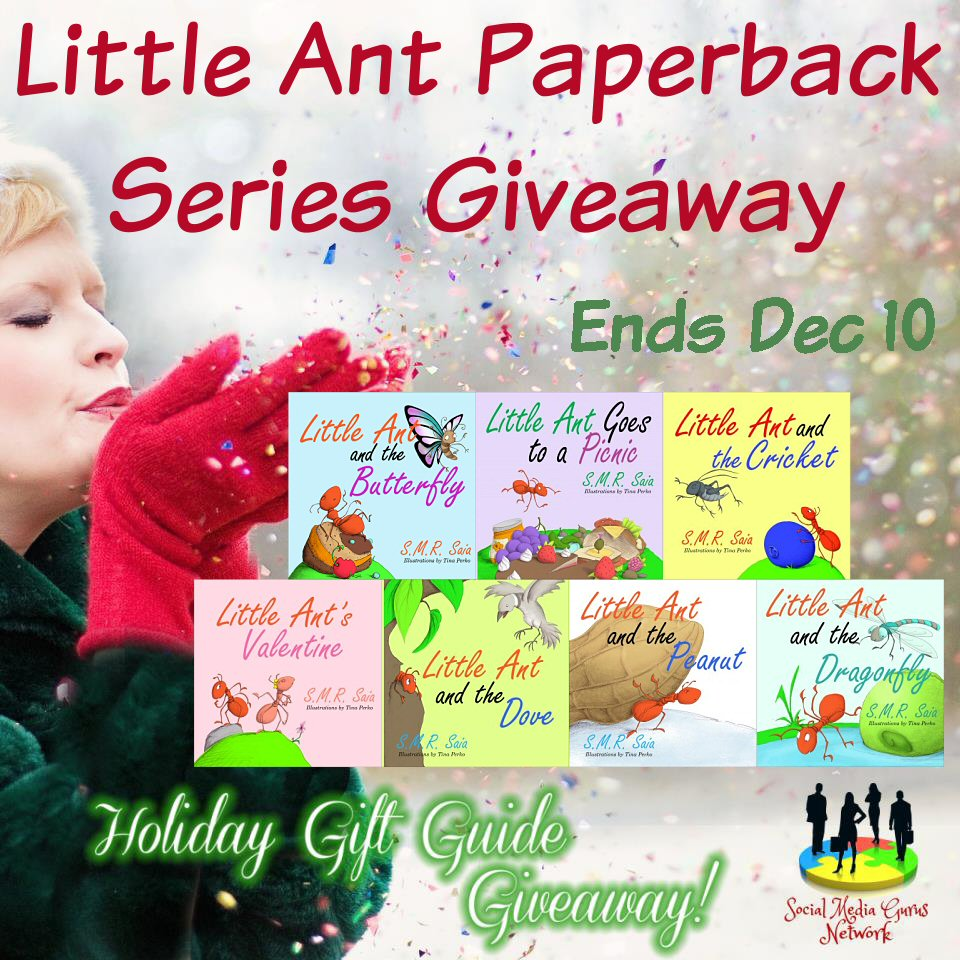 Little Ant Paperback Giveaway