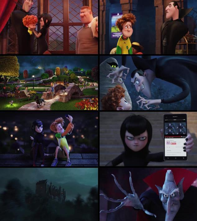 Hotel Transylvania 2 2015 English 720p HDRip