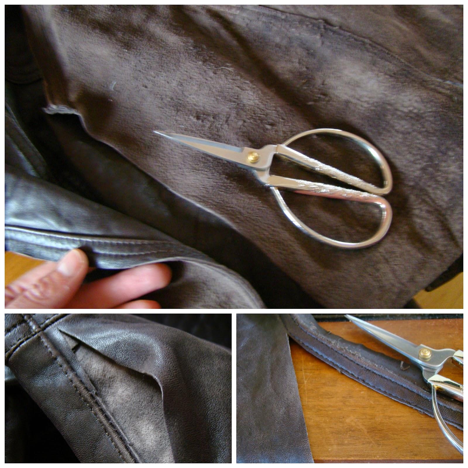 Corte de las costuras