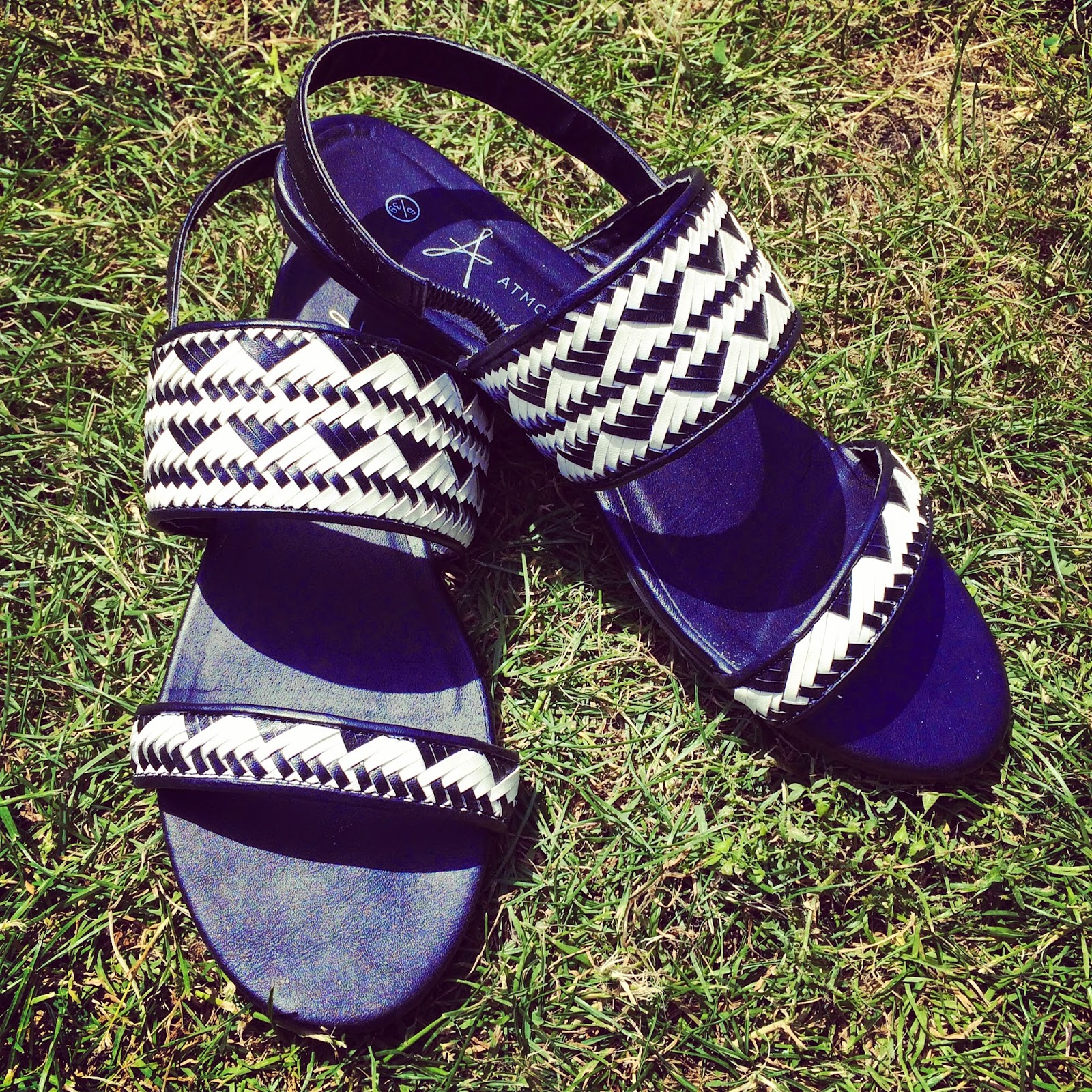Primark Monocrome Summer Sandals Review 2