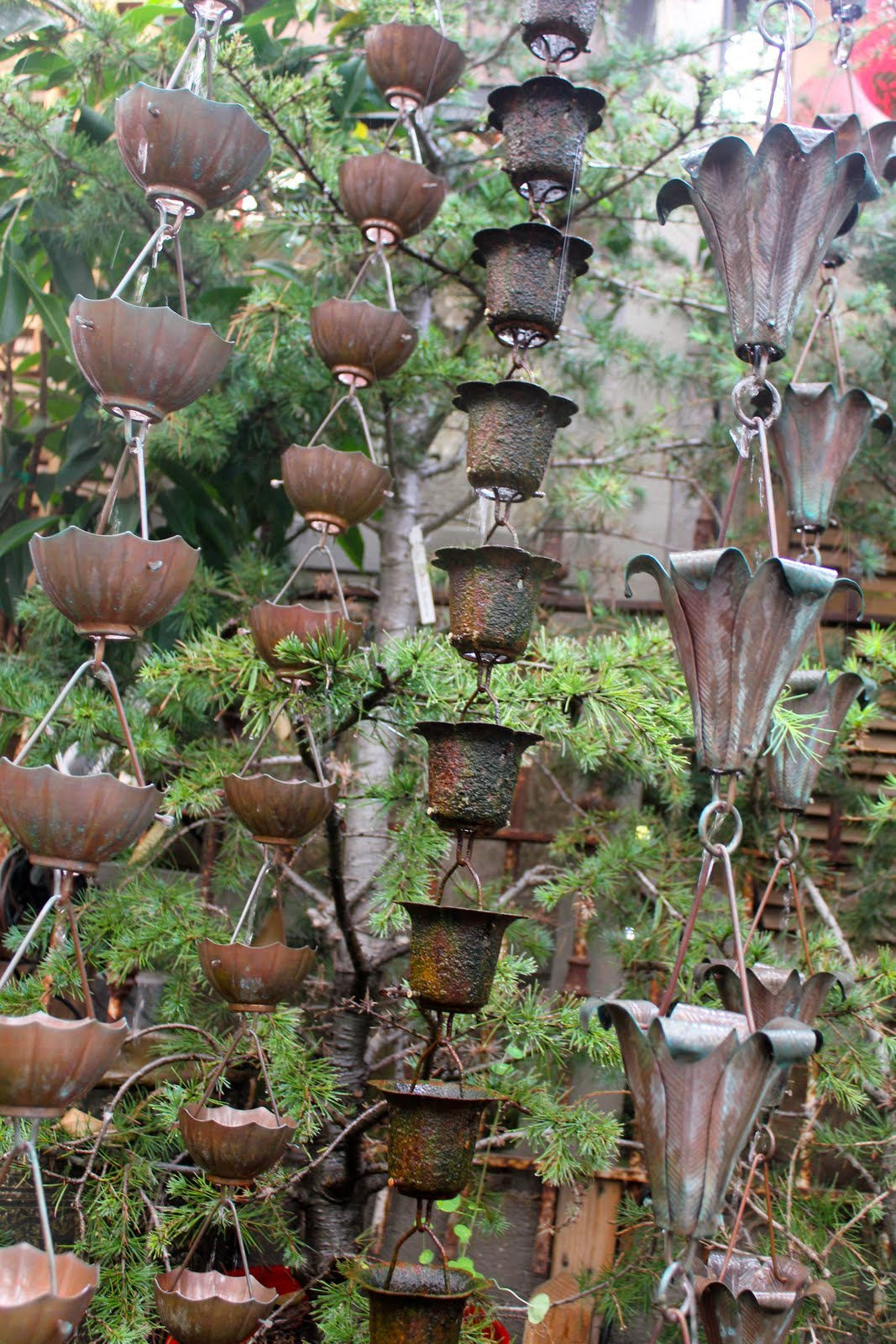 1000 Images About Rain Chains On Pinterest Copper