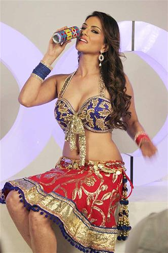 Sunny Leone Exclusive XXX Energy Drink Photoshoot