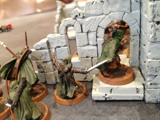 Hobbit SBG - Arnor beat Morannon orcs