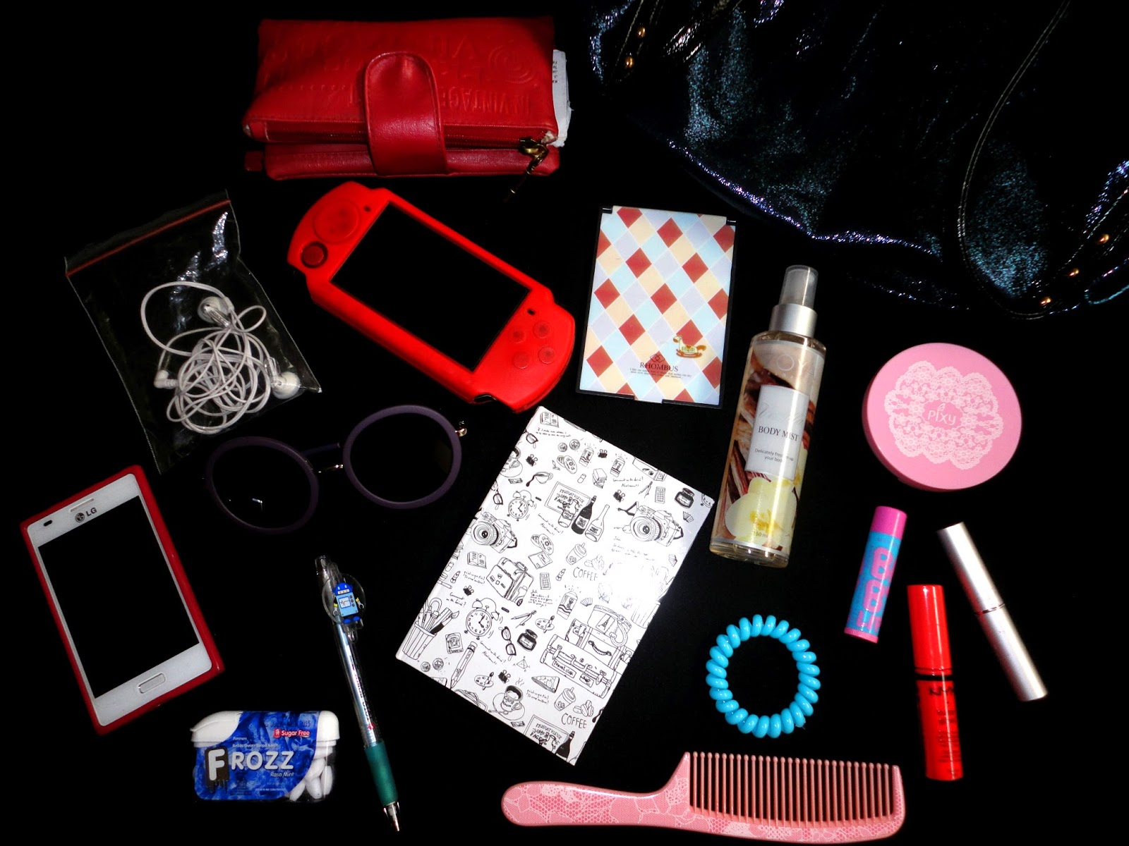 what's inside my bag