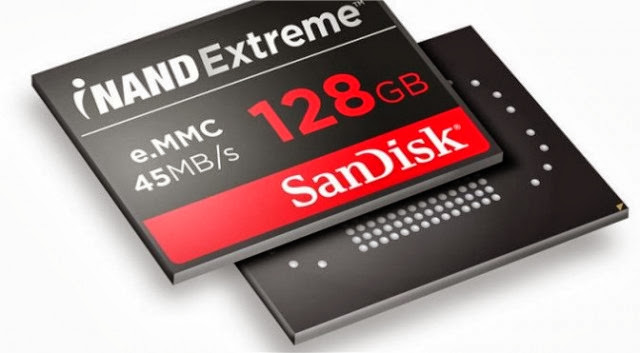 SanDisk iNAND Extreme Drive