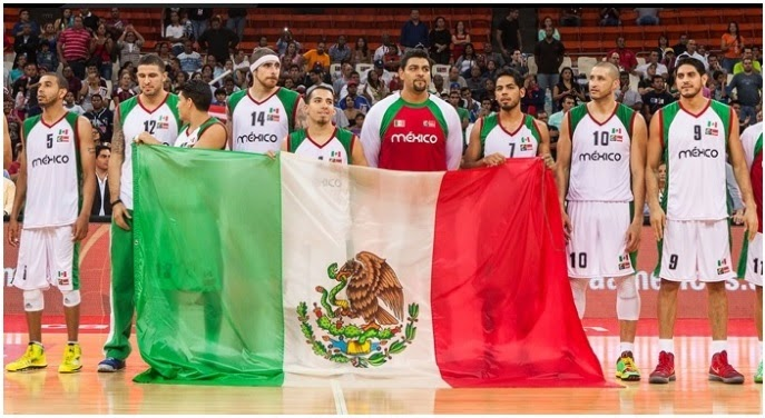 Mexico Basketball Team For Fiba World Cup 2014