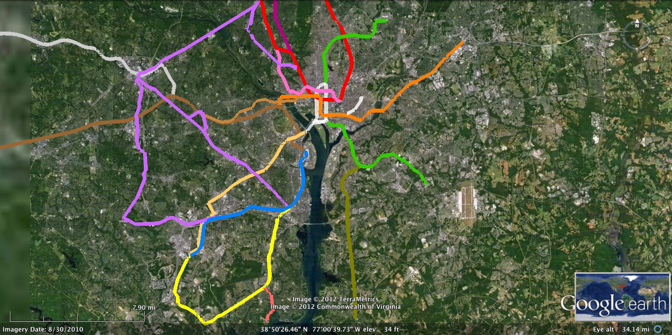 Dc Metro Map Yellow Line.Purple Line Extended Tyson S Corner In 12 Minutes Oil Free