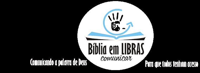 BÍBLIA EM LIBRAS