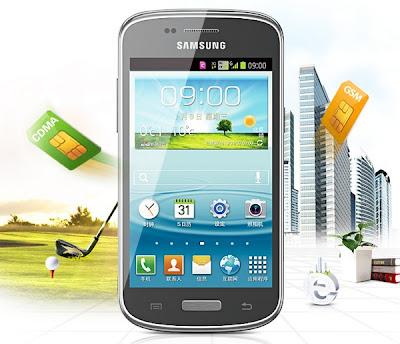 Samsung Galaxy Infinite Dua Kartu GSM+CDMA