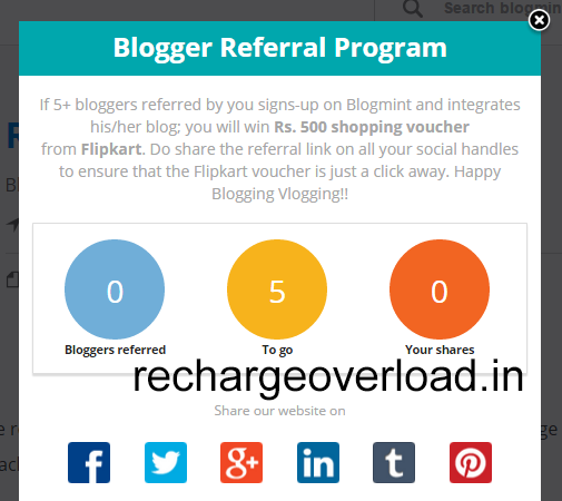 blogmint refer and earn