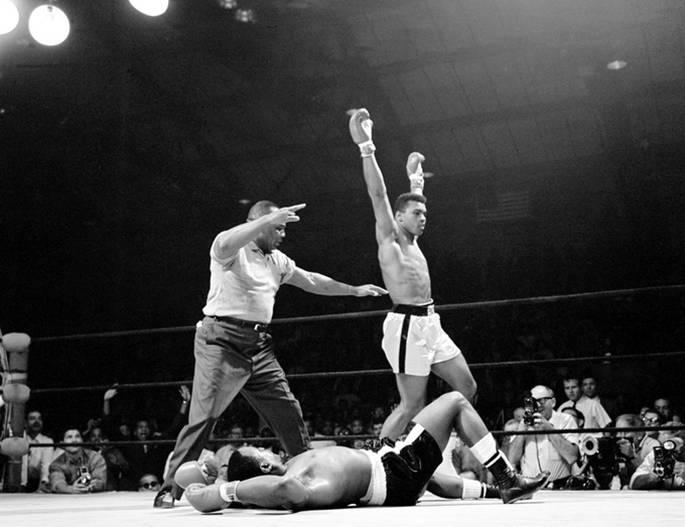 Muhammad Ali vs. Sonny Liston, 1965