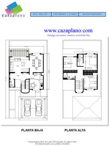 Bitacoras agosto 2011 for Planos arquitectonicos de casas gratis