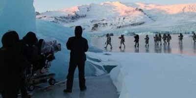 rodaje más allá del muro Islandia - Juego de Tronos en los siete reinos