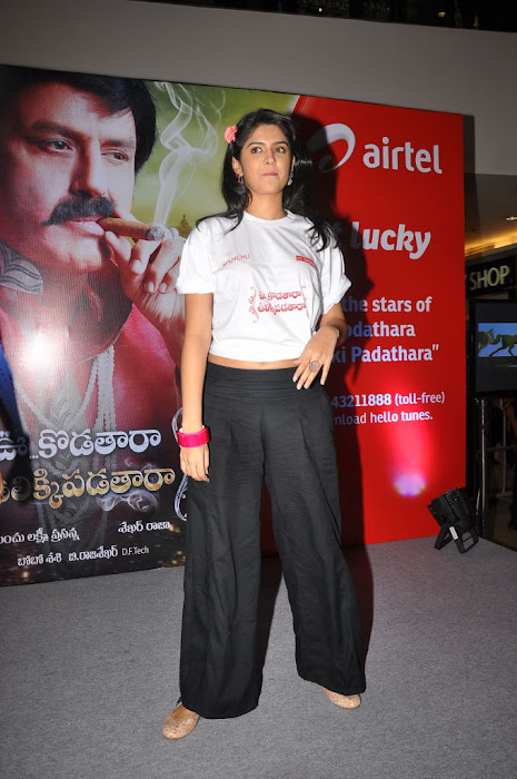 deeksha seth at inorbit mall for ukup promotion hot images