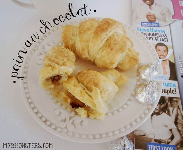 Take a Mommy Time Out this week with PEOPLE Magazine and a little Pain au Chocolat made from Hershey's Kisses #HersheysPeople #PMedia #ad