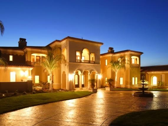 desain rumah mewah dan luas